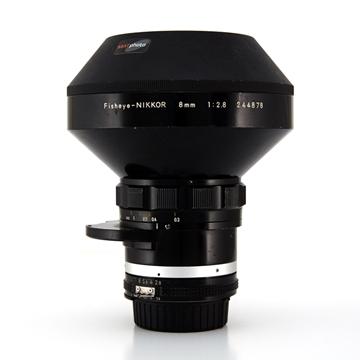 Picture of Nikon 8mm f/2.8 Fisheye-Nikkor Lens