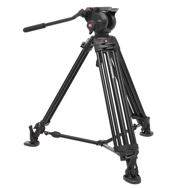 Picture of Manfrotto TR546B+HD501HDV VIdeo Tripod Kit