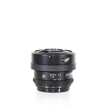 Picture of Phase One 80mm f/2.8 Leaf Shutter AF (Schneider-Kreuznach) Lens