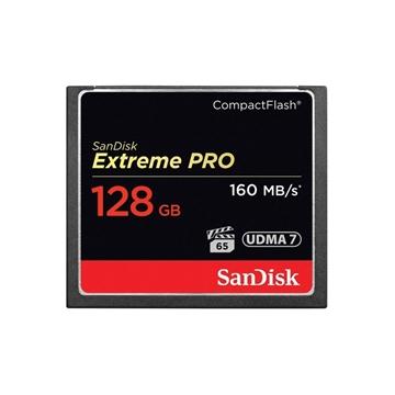 Image de Sandisk Compact Flash Extreme Pro (160MO/S) 128GO