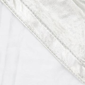Image de toile blanc/argent 2mx2m