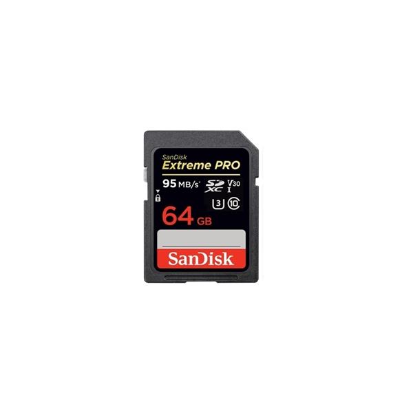 Image sur Sandisk Carte SDHC Extreme Pro (95MO/S) 64GO