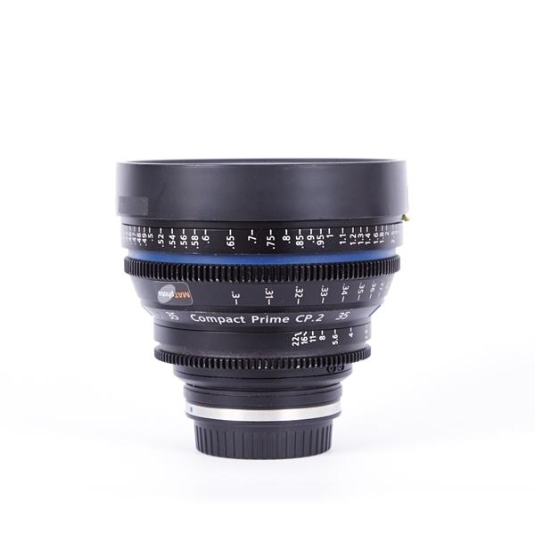 Image sur Zeiss Compact Prime 35mm T2.1 Distagon T* CP.2 (Canon)
